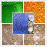 4mm 녹색 Nashiji 장식무늬가 든 유리 제품