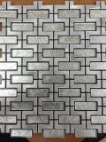Azulejos de suelo plásticos de aluminio de mosaico para la venta