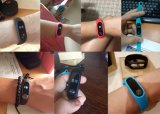 Correa elegante del Touchpad OLED del perseguidor de la aptitud del ritmo cardíaco del MI de la venda 2 de Miband Band2 de la pulsera original del Wristband