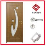 Porta interior de madeira do PVC do MDF da venda quente (HB-002)