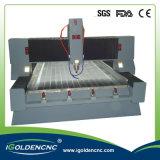 A gravura de pedra de mármore do diamante do CNC utiliza ferramentas a máquina