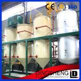 Mini refinaria de petróleo crua da semente de algodão para a venda