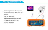 "Poe 4.3 "" TFT LCDの携帯用IP Camera CCTV Video Monitor Tester"
