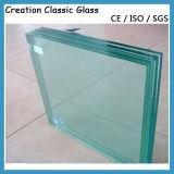 8 mm + 1.52 PVB + 8 mm maakten Gelamineerd Glas voor Venster, Trede aan