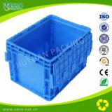 Logistischer blauer Plastikbehälter für Autoteil-Industrie