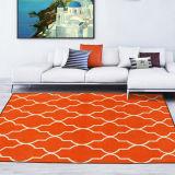 洗濯できる方法デザイン居間の敷物