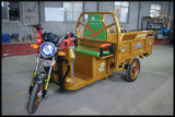 Taxi eléctrico de la bici de la alta calidad, carrito de la bicicleta, triciclo del taxi, triciclo del carrito
