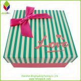 Коробка ботинок подарка штемпелевать золота упаковывая с магнитным Colsure