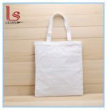 カスタムロゴ手のデッサンの純粋な綿DIYのキャンバスのショッピング・バッグ