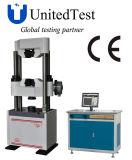 Máquina de teste universal hidráulica manual da visualização óptica do PC da série de WEW-C