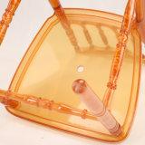 Silla transparente de Napoleon de la silla de Napoleon de la resina de la alta calidad para el acontecimiento