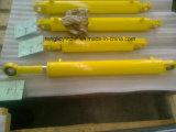 Doppio cilindro idraulico sostituto saldato per la mietitrice della canna da zucchero di Zoomlion