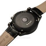 Runder Bildschirm-intelligente Uhr mit Heartrate Überwachung (T2)