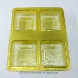 Kunststoffgehäuse-Geschenk Belüftung-Fall-Tellersegment für Kuchen
