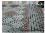 景色のための自然な普及した立方体か立方舗装の分割されたペーバーの石