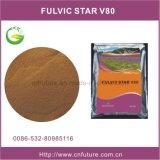 칼륨 Fulvate, Potassium 및 Nitrogen Rich Fulvic Acid Fertilizer