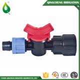 Mini válvulas rosqueadas da água plástica masculina da irrigação de Famale