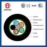 60 Kern-gepanzertes Faser-Optikkabel für Leitung-Installation GYTS