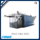 Machine de traitement par aspiration de finition textile à vapeur