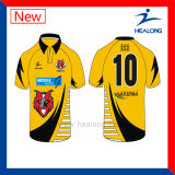 Healong Zoll-Digital gedrucktes Rugby Jersey