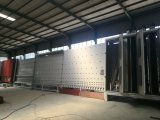Vidrio aislador automático vertical fuera de la cadena de producción plana de la prensa de la asamblea
