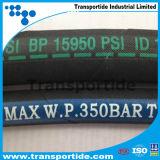 Flexibler haltbarer hydraulischer Gummihochdruckschlauch mit guter Qualität