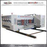 Multicolors gewölbtes Papier-Drucken-kerbende und stempelschneidene Maschine