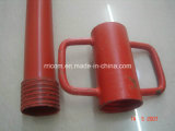 Pesado-deber rojo Scaffold Steel Props de Powder Coated para Formwork