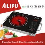 Sensor de control de tacto y metal que contiene la cocina infrarroja portable