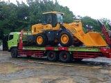 De Lader van de bulldozer