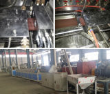 WPC Decking-Plastikprofil, das Maschine mit CER und ISO9000 herstellt