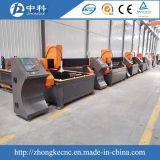 Máquina de estaca elevada do plasma do CNC da configuração para o metal