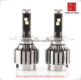 자동 LED 헤드라이트 IP68를 위한 LED 차 빛 H4는, 6500k 방수 처리한다