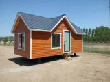 Chambre mobile préfabriquée en acier de mesure légère confortable
