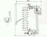 중국 RW3-10kv 탈락 신관 배기판 옥외 고전압 - 중국 탈락 신관, 신관 배기판