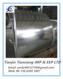 Bobine en acier galvanisée plongée doucement chaude de JIS G3302