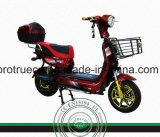 motocicleta elétrica do motor 500W traseiro sem escova