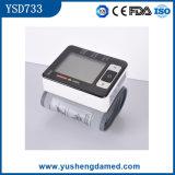 Type automatique moniteur Ysd733 de poignet de pression sanguine de Digitals