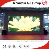 Affichage à LED Polychrome d'intérieur de vidéo de HD P6 pour la publicité