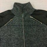 Moda Masculina Zip Up Fleece Coat em Roupa Esportiva Fw-8760