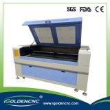 Neue Produkt-heißer Verkaufs-China-Lieferant von CNC-Gewebe-Laser 1390