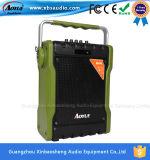 De Groene Spreker van het leger met Bluetooth Spreker van de Kaart van de FM USB TF de Openlucht Actieve