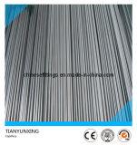 Pipe ronde sans joint de capillaire d'acier inoxydable d'ASTM