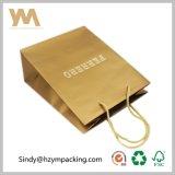 Bolso de regalo de Ferrero Bolsa de papel de papel recubierto C2s para chocolate
