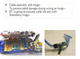 Micro cabo do Pigtail do RF do cabo coaxial com o conetor fêmea de SMA