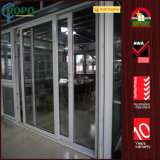 UPVC Sound Proof Double Glazing Balcony Sliding Storm Doors