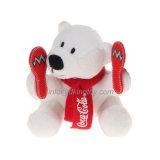 Les cadeaux de promotion Multi-Pose des jouets d'ours blanc de peluche