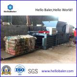 Máquina horizontal da imprensa de Hellobaler para frascos plásticos