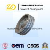 Carcaça da precisão do aço suave do OEM para a maquinaria de construção