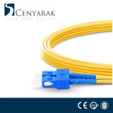 Cordon de correction LC-Sc Single-Mode Fiber Optic